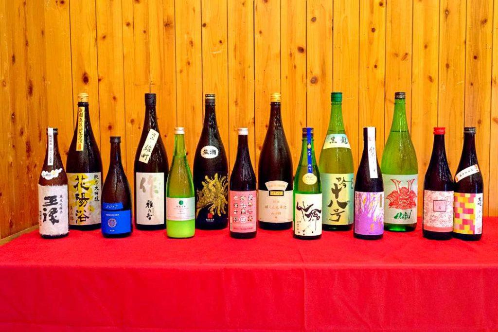 【開催レポート】5月13日(日) 酒米の違いを味わう独身限定日本酒会