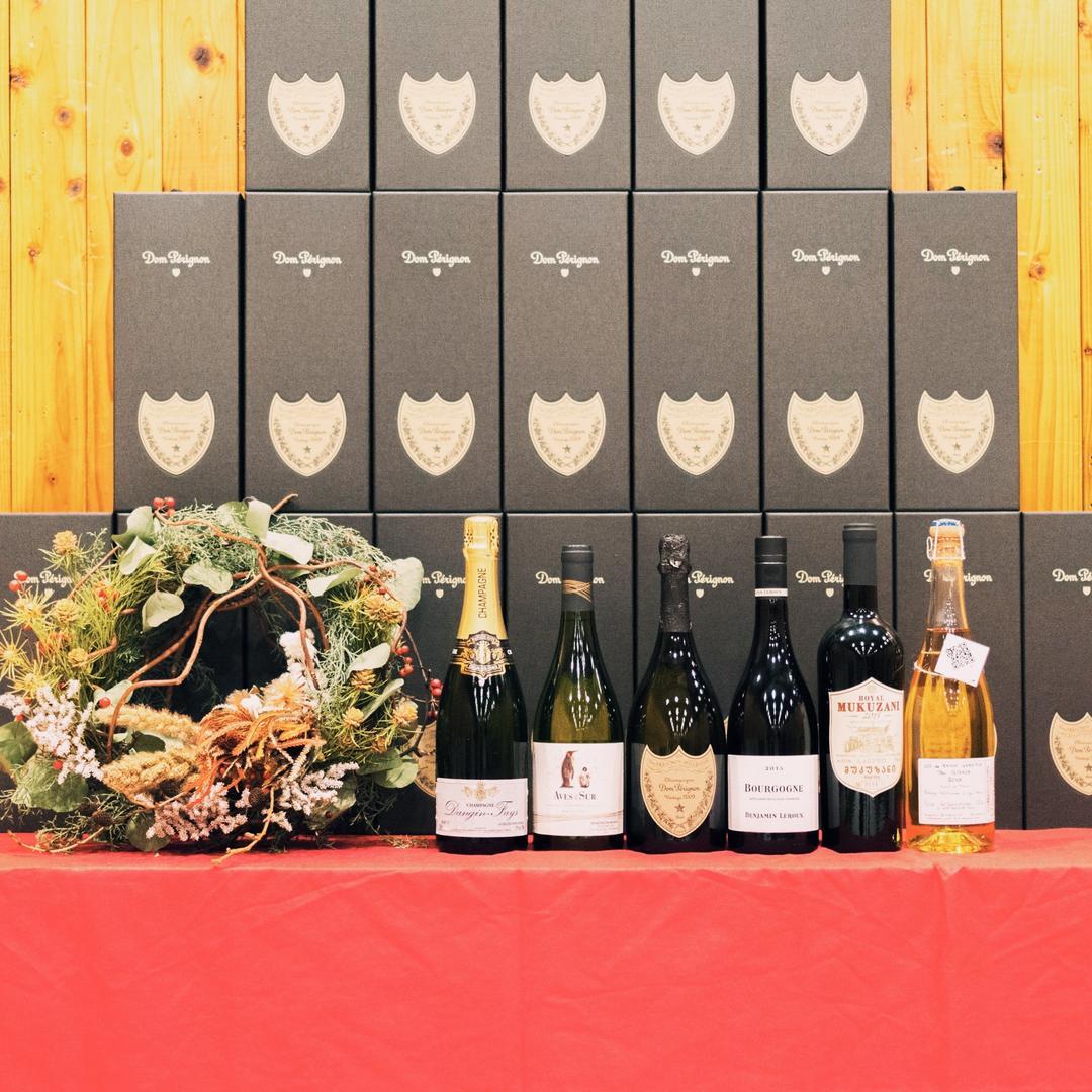 【開催レポート】12月22日(土) [原宿] 例のシャンパーニュで終わる独身限定ワイン会