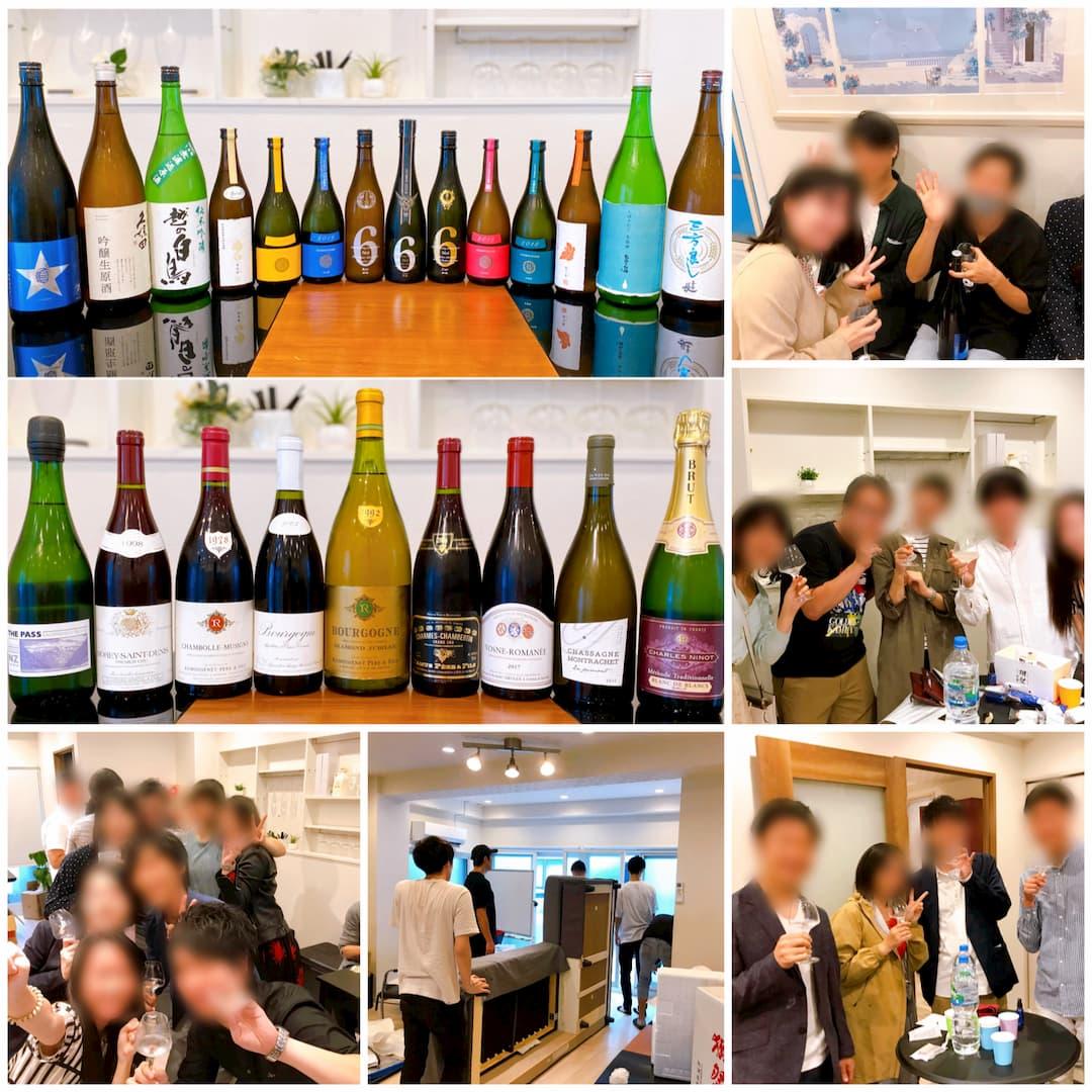 【カレラ 開催レポート】9月26日(土) 独身限定日本酒会 & ワイン会